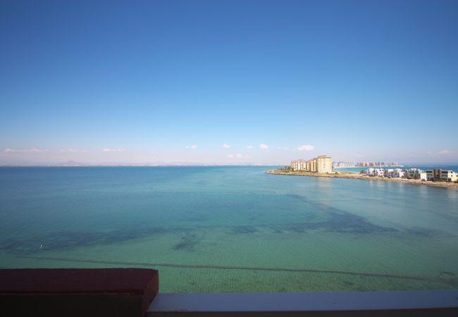 Apartamento en La Manga del Mar Menor - Apartamento de dos dormitorios con increíbles vistas
