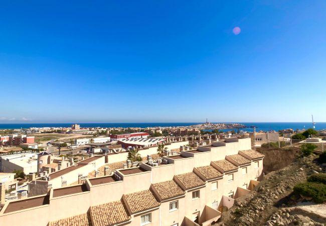 Apartamento en Cabo de Palos - Precioso ático con amplias terrazas con vistas en Cala Flores