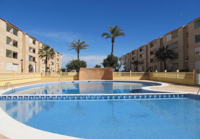 Apartamento en La Manga del Mar Menor - Espacioso apartamento de 3 dorm. en 1ªlínea!
