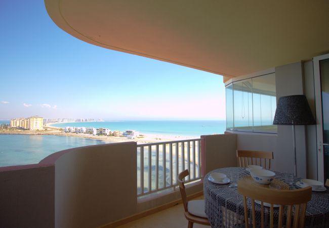 Apartamento en La Manga del Mar Menor - Impresionante apartamento de lujo en primera línea
