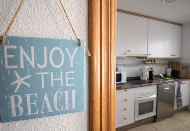 Apartamento en La Manga del Mar Menor - Acogedor 9º piso de dos dormtorios con preciosas vistas
