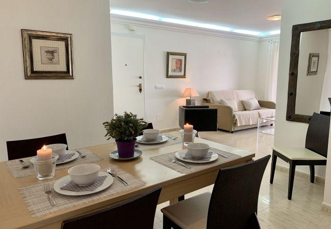 Apartamento en La Manga del Mar Menor - Amplio piso en planta baja con gran terrace