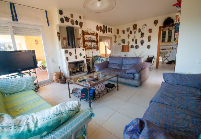 Chalet in Cabo de Palos - Stunning independent villa with private pool and tennis court